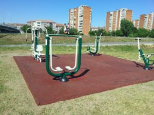 parc fitnes 2014 oradea pavaj cauciuc protector