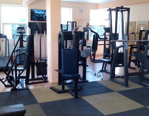 sala de fitnes covor protector