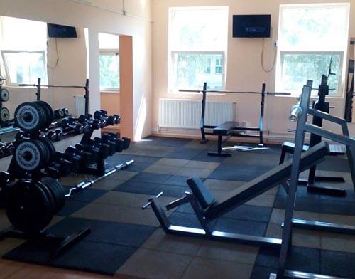 sala de fitnes pavaj protector