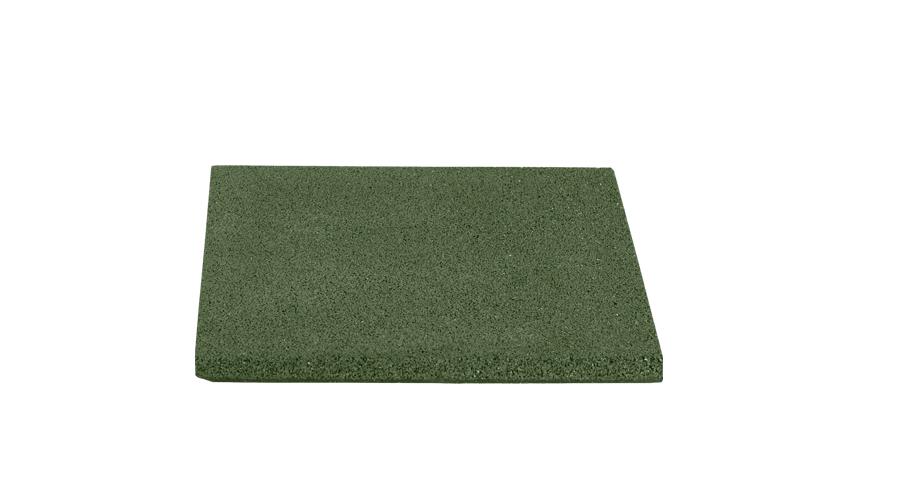 Dala de cauciuc protector reflex 2cm verde 40x40