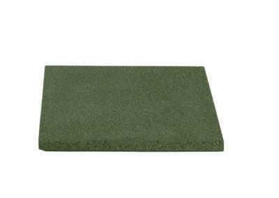 Dala de cauciuc protector reflex 4cm verde 40x40