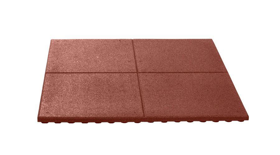pavaj protector grand reflex 3cm rosu 100x100
