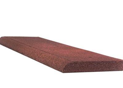 reflex bordura cauciuc rosu 4cm 100x25 2
